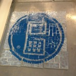 guide by cell's logo made up of tiles