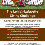 The Lehigh-Lafayette Giving challenge