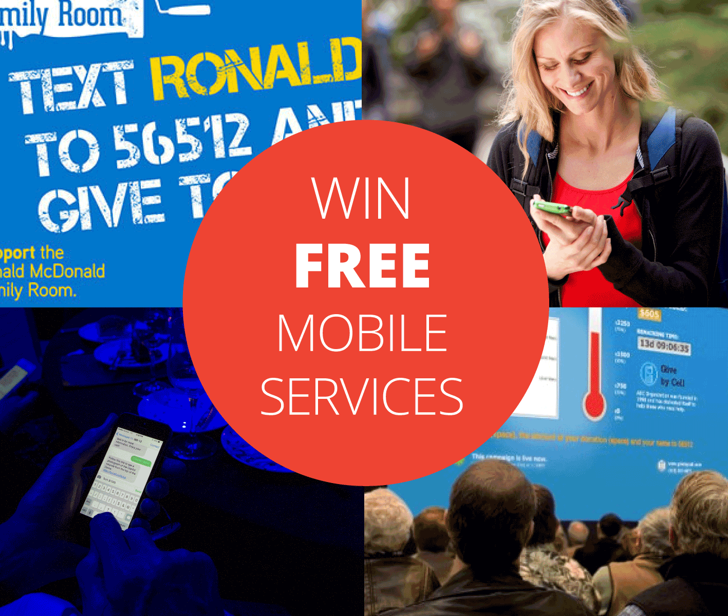 Win 1 Month Free Mobile Services