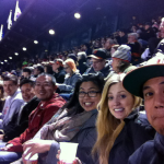 team at a giants game