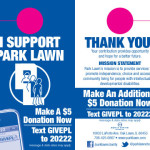 Park Lawn call to action